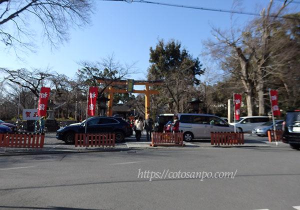 平野神社 駐車場