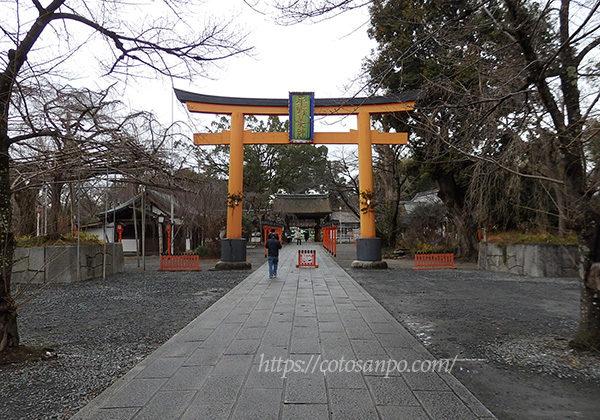 平野神社 鳥居