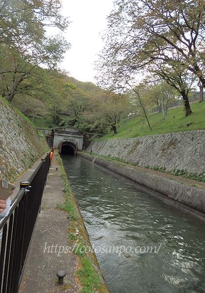 琵琶湖疏水船 第一トンネル