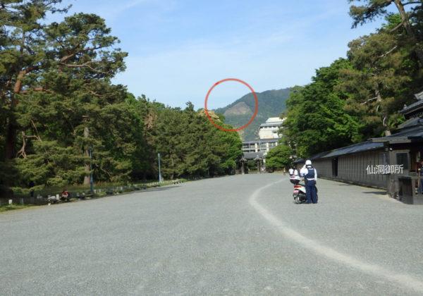 京都御所 送り火スポット