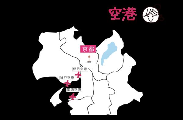 京都 最寄空港
