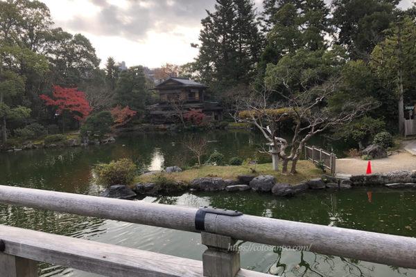京都御苑 紅葉  拾翠亭