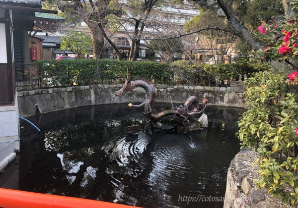 壬生寺 池