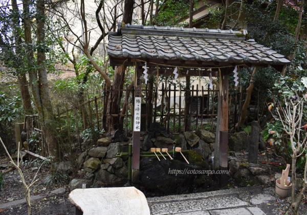 大豊神社 椿ヶ峰の御神水